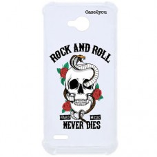 Capa para LG K10 Power Case2you - Antishock Rock and Roll