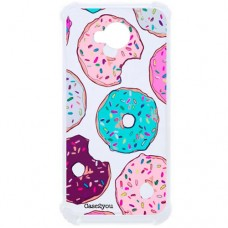 Capa para LG K10 Power Case2you - Antishock Rosquinhas