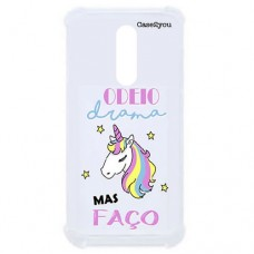 Capa para LG K12 Plus Case2you - Odeio Drama Antishock