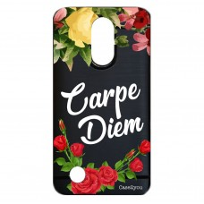 Capa para LG K4 2017 Case2you - Escovada Preta Carpe Diem Black
