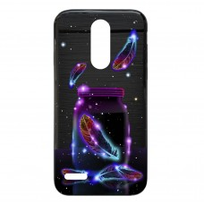 Capa para LG K4 2017 Case2you - Escovada Preta Cup in Space