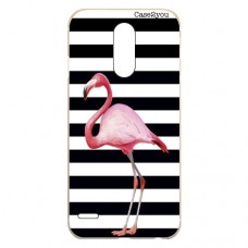 Capa para LG K4 2017 Case2you - Flamingo Listrado