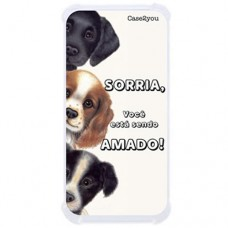 Capa para LG Q7 Case2you - Antishock Sorria
