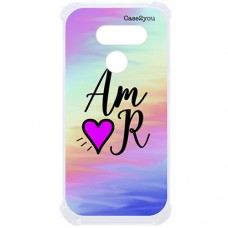 Capa para LG K40s Case2you - Antishock Abstrato Amor