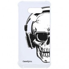 Capa para LG K50s Case2you - Antishock Skull Phone