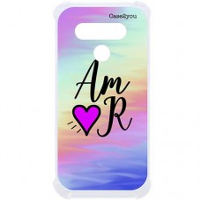 Capa para LG K61 Case2you - Antishock Abstrato Amor