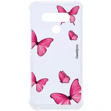 Capa para LG K50s Case2you - Antishock Butterfly Pink