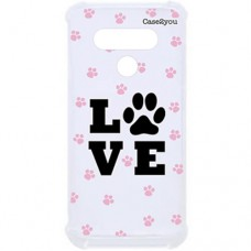 Capa para LG K50s Case2you - Antishock Love Pet