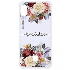 Capa para LG K8 Plus Case2you - Antishock Gratidão
