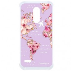 Capa para LG K11 Plus Case2you - Antishock Mundi Floral