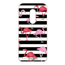 Capa para LG K4 2017 Case2you - Flamingos Listrado