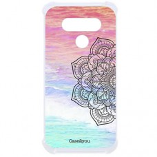 Capa para LG Q51 Case2you - Antishock Beach Mandala
