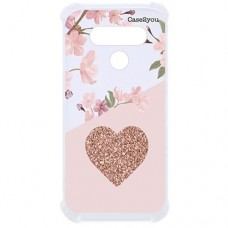 Capa para LG K12 Max e K12 Prime Case2you - Antishock Cerejeira Love
