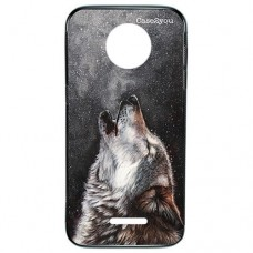Capa para Motorola Moto C Plus Case2you - Fumê Wolf