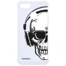 Capa para Motorola Moto E6 Play Case2you - Antishock Skull Phone