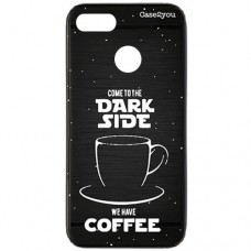 Capa para Motorola Moto E6 Play Case2you - Escovada Preta Dark Side