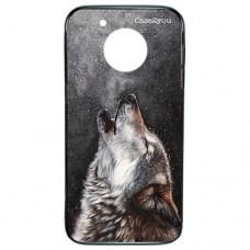 Capa para Motorola Moto G5 Plus Case2you - Fumê Wolf