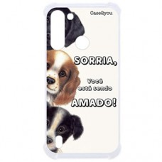 Capa para Motorola Moto G8 Power Lite Case2you - Antishock Sorria