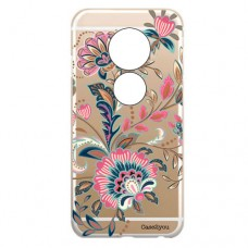 Capa para Motorola Moto E5 Play Case2you - Floral Rosa