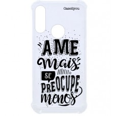 Capa para Motorola Moto E6 Plus Case2you - Ame Mais Antishock