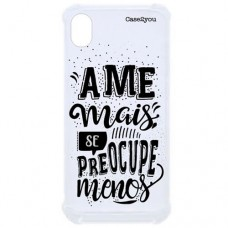 Capa para Motorola Moto E6 Case2you - Ame Mais Antishock