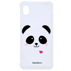 Capa para Motorola Moto E6 Case2you - Antishock Face Panda