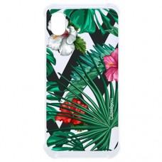 Capa para Motorola Moto E6 Case2you - Antishock Flowers