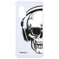 Capa para Motorola Moto Edge Plus Case2you - Antishock Skull Phone
