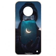 Capa para Motorola Moto G6 Plus Case2you - Moon Universe