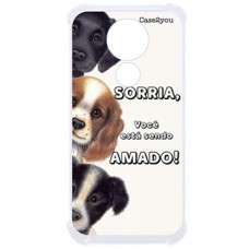 Capa para Motorola Moto G7 Play Case2you - Antishock Sorria