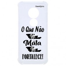 Capa para Motorola Moto G7 Power Case2you - Me Fortacele Antishock