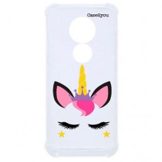 Capa para Motorola Moto G7 e G7 Plus Case2you - Unicorn Antishock