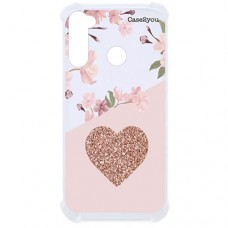 Capa para Motorola Moto G Stylus Case2you - Antishock Cerejeira Love