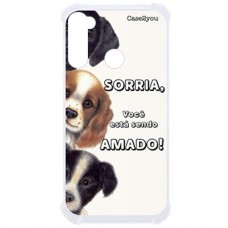 Capa para Motorola Moto G8 Power Case2you - Antishock Sorria