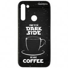 Capa para Motorola Moto G8 Case2you - Escovada Preta Dark Side