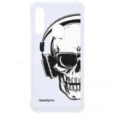 Capa para Motorola Moto G8 Play e Moto One Macro Case2you - Antishock Skull Phone
