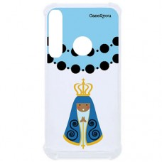 Capa para Motorola Moto G8 Play e Moto One Macro Case2you - Antishock Ave Maria