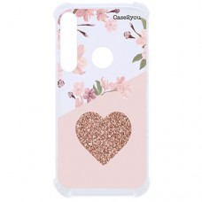 Capa para Motorola Moto G8 Plus Case2you - Antishock Cerejeira Love