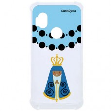 Capa para Motorola Moto One Hyper Case2you - Antishock Ave Maria