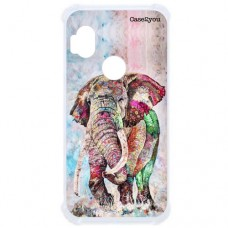 Capa para Motorola Moto One Hyper Case2you - Antishock Elefante Color