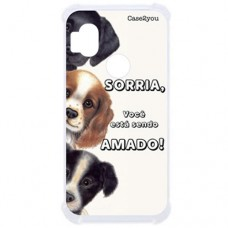 Capa para Motorola Moto One Hyper Case2you - Antishock Sorria