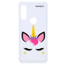 Capa para Motorola Moto One Vision P40/One Action/P40 Power Case2you - Unicorn Antishock