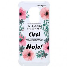 Capa para Motorola Moto One Zoom Case2you - Eu Lembro Antishock