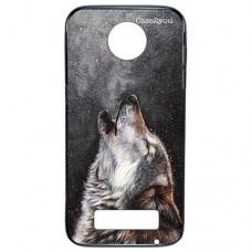 Capa para Moto Z Play Case2you - Fumê Wolf