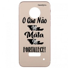 Capa para Motorola Moto Z3 Play Case2you - Me Fortalece