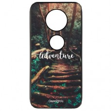 Capa para Motorola Moto Z4 Play Case2you - Escovada Preta Adventure