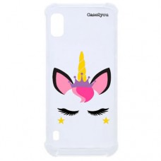 Capa para Samsung Galaxy A10 Case2you - Unicorn Antishock