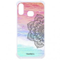 Capa para Samsung Galaxy A10s Case2you - Antishock Beach Mandala