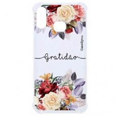 Capa para Samsung Galaxy A10s Case2you - Antishock Gratidão