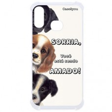 Capa para Samsung Galaxy A10s Case2you - Antishock Sorria